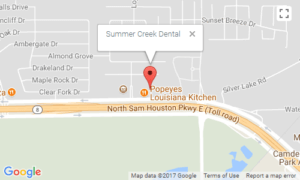 Summer Creek Dental Location